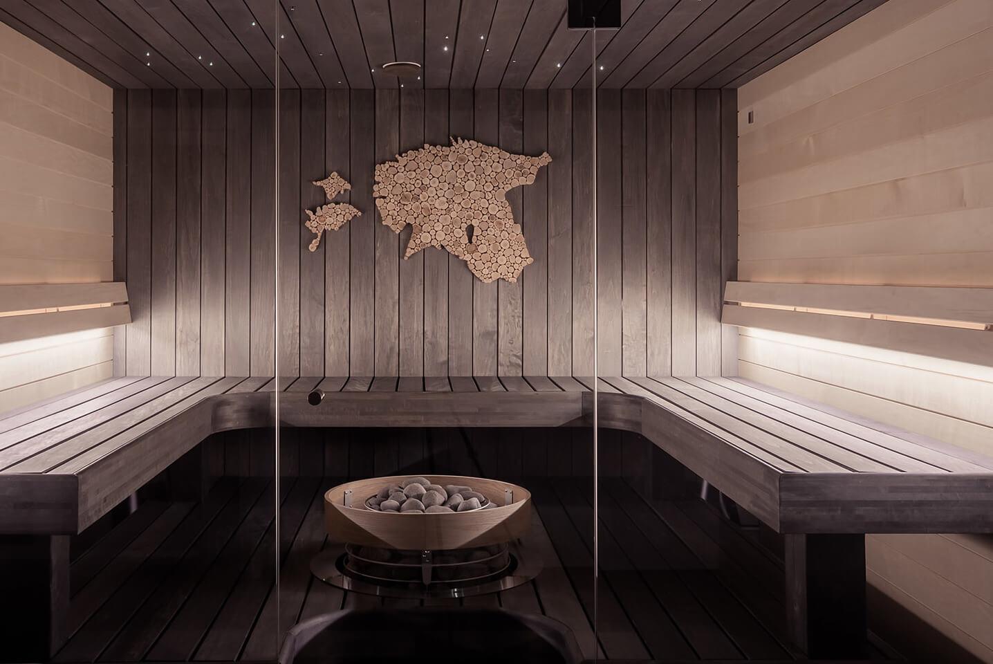 Large Wooden Sauna