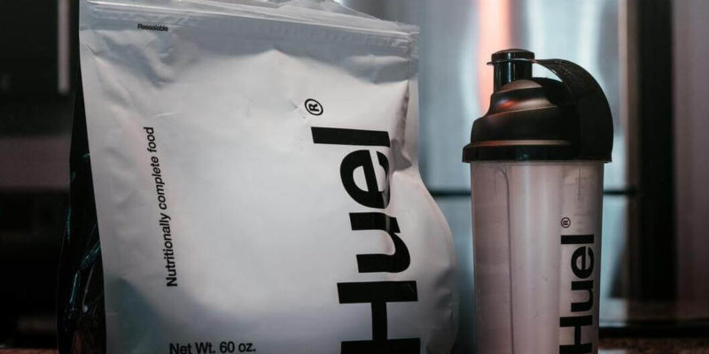 Bag and Shaker Containing Pre-Workout