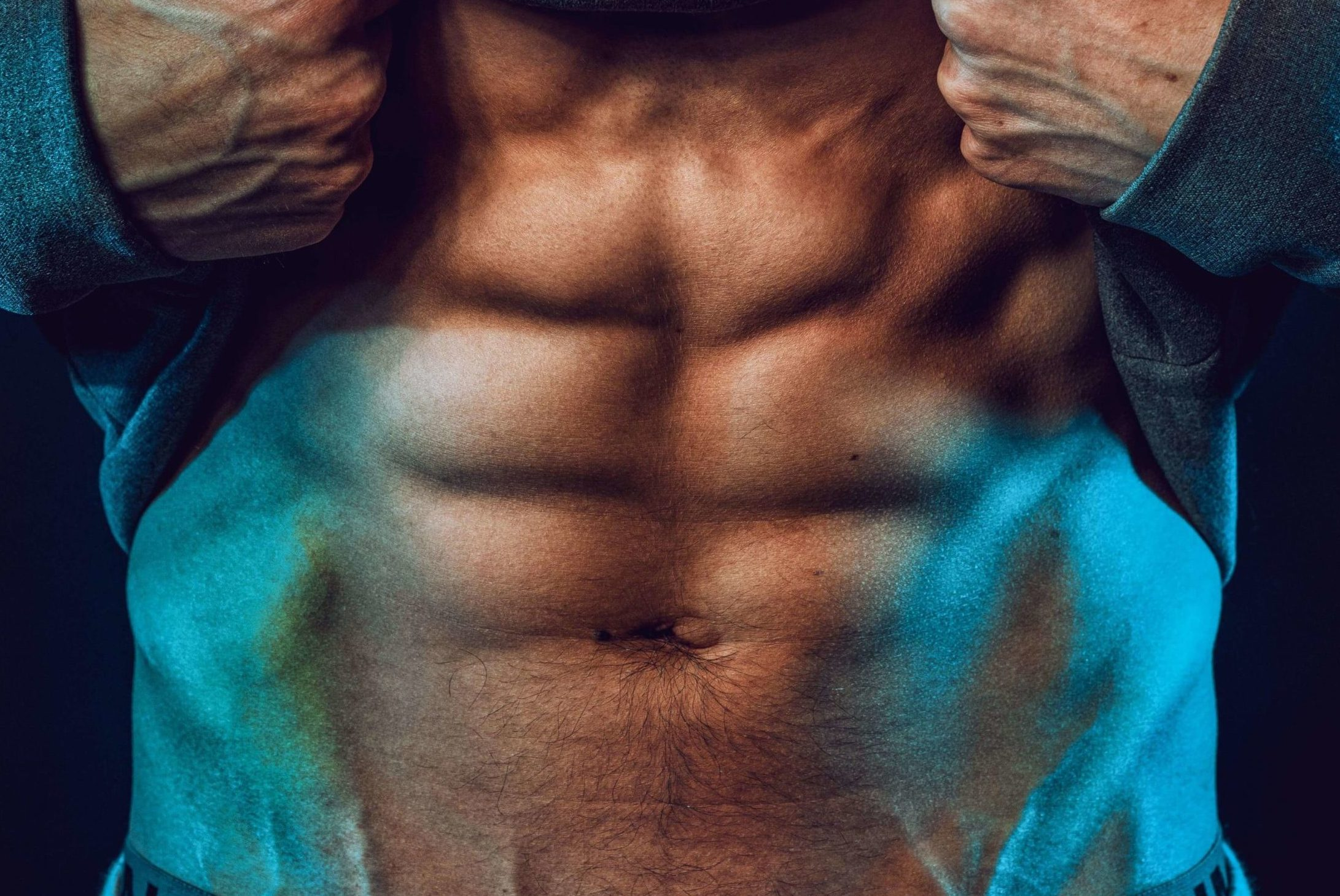 Close Up of Abs